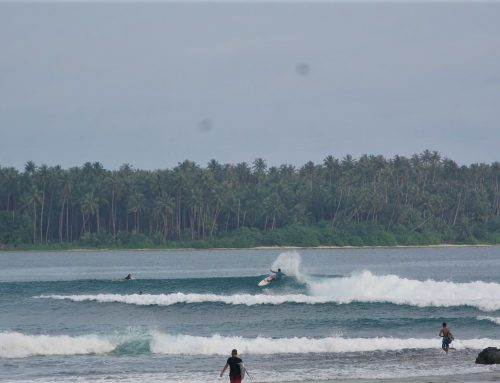 Nias Surf Report 12-18 Apr 18 by Mark Flint from KabuNohi Surfdeck